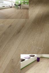 Dřevěná plovoucí podlaha - kartáčovaný dub