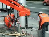 Rekonstrukce obrubníků a chodníku