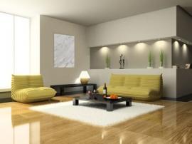 Topný kámen v obývacím pokoji