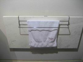 Topný kámen se sušákem na ručníky