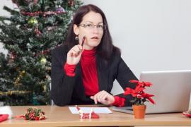 Vánoční pohoda především - i na pracovišti