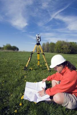 Geodetické práce a měřící technika