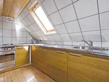 Kuchyně v podkroví