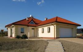 Novostavba bungalovu s garáží