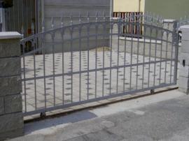 Kované posuvná brána