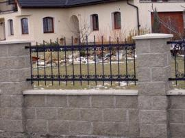 Kovaná plotová výplň