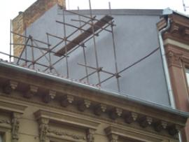 Rekonstrukce domovního štítu
