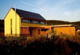 Nízkoenergetický dům v Mnichovicích