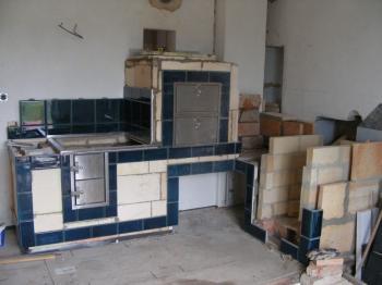 Stavba kachláku - kachlového sporáku
