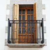 Kované balkónové zábradlí