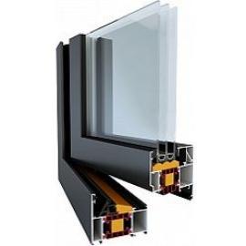 Okenní hliníkový profil TM 77 HI