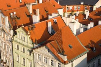 Starší domy v historické zástavbě