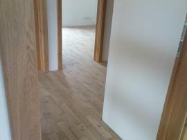 Nová parketová podlaha