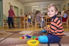 Podlahové krytiny v mateřské škole