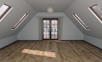 Osvětlení interiéru střešními okny