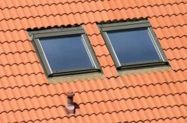 Kvalitně osazená střešní okna