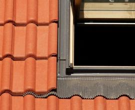 Detail lemování střešního okna