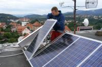Montáž fotovoltaických panelů
