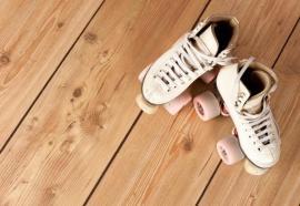 Olejovaná prkenná podlaha