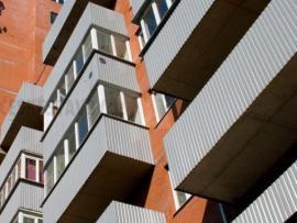 Zasklené balkóny