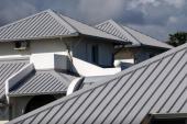 Nová plechová střecha