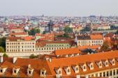 Mansardové střechy jsou hojně zastoupené v městských památkových zónách