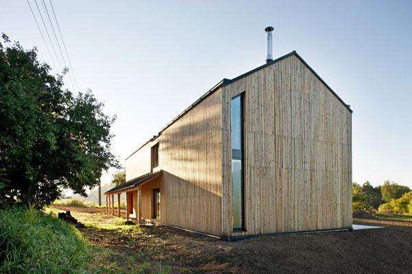Moderní dřevostavba