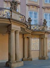 Prezidentský balkón, Pražský hrad, restaurátorské práce