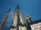 Západní průčelí, Katedrála sv. Víta, Václava a Vojtěcha, Pražský hrad, restaurátorské práce