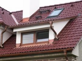 Řešení prostupů střechou + střešní doplňky
