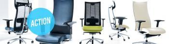 Kancelářské pracovní židle
