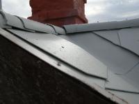 Renovovaný eternit - detail
