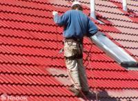 Nástřik taškové střechy