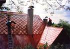 Výměna šablon a hřebenáčů eternitové střechy - provádí se před penetrováním střechy