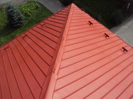 Renovovaná alukrytová střecha