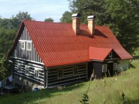 Plechová střecha po renovaci