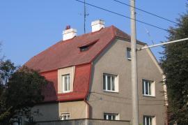 Eternitová střecha před renovací