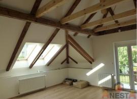 Zateplením šikmé střechy získáme zajímavý obytný prostor