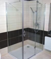 Sprchový kout bez vaničky