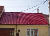 Klempířské prvky na rekonstruované střeše