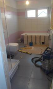 Interiér - realizace koupelny