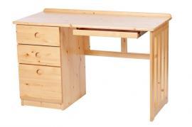 Masivní dětský pracovní stůl