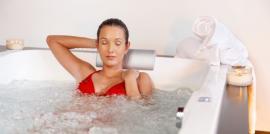 Regenerace v hydromasážní vaně