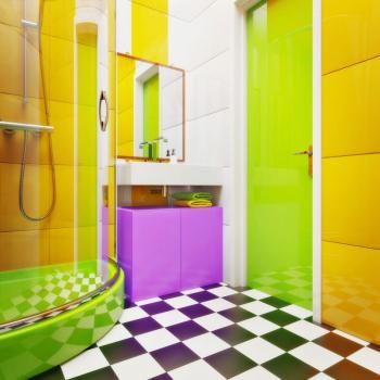 Akrylát umožňuje i probarvení hmoty