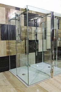 Velmi oblíbená plochá sprchová vanička