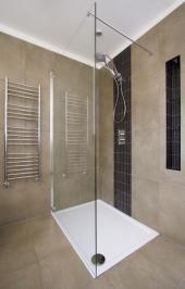 Plochá obdélníková sprchová vanička