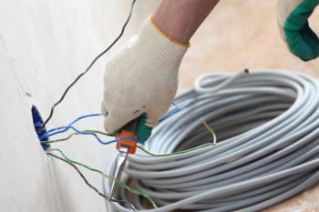 Provádění elektroinstalace
