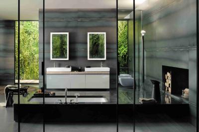 Nová designová koupelnová série Citterio nabízí inovativní setkání italského designu sněmeckou kvalitou. Citterio spojuje nadčasový moderní tvar a vysoce kvalitní materiály skvalitou a funkčností na nejvyšší úrovni.