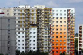 Zateplování obálky panelového bytového domu