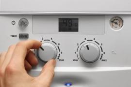 Jednoduché a intuitivní ovládání plynového kotle